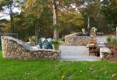 Fireplace & patio2