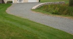 Darrin driveway before