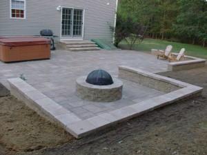 Gormley Fireplace & patio