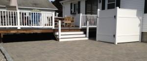 Lynnette gray patio & shower